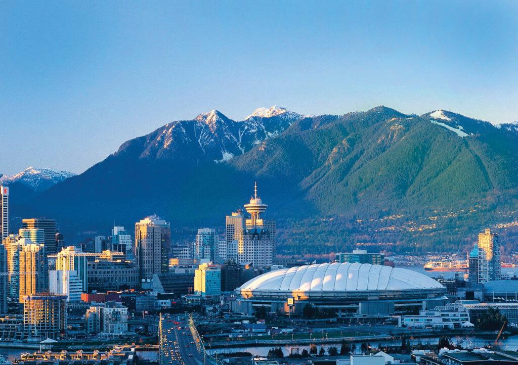 Montagnes à Vancouver