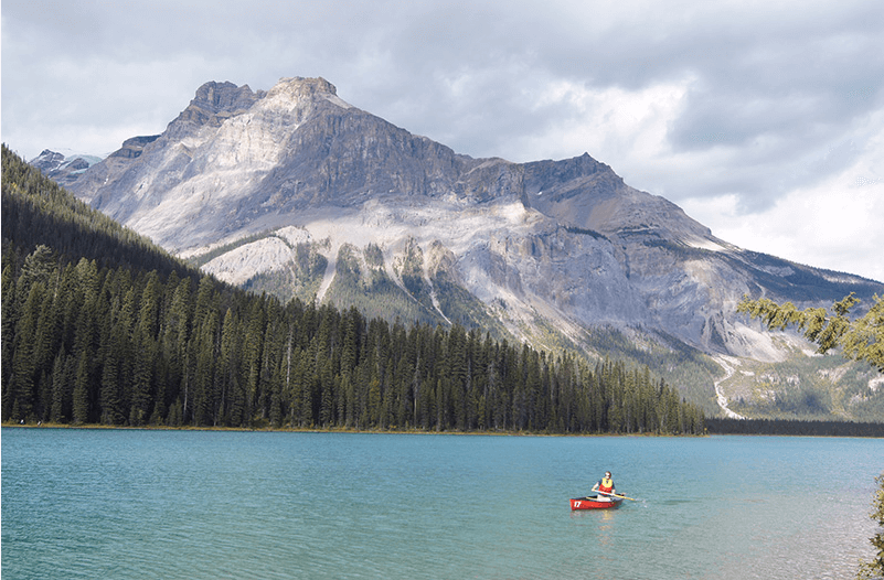 Lac Louise au Canada
