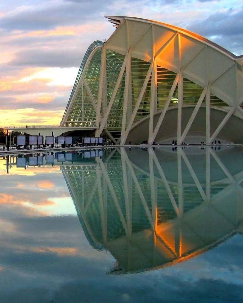 Valencia Cité des arts et des sciences